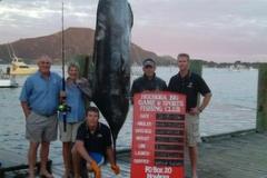 Ladies 10kg World Record Blue Marlin 238.6kg