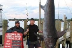 Hamish Anderson 241kg Swordfish