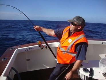 Fishing, Orange Vest