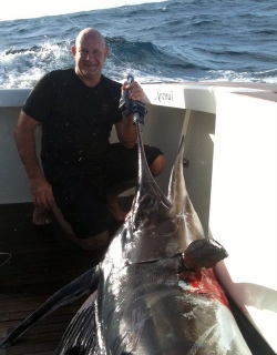 world class Swordfishing this year just off our Northland coast